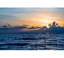 Rollingstone Sunrise Photographic Print