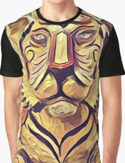 Tiger Statue K1 Graphic T-Shirt