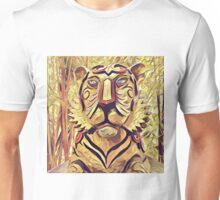 Tiger Statue K1 Unisex T-Shirt
