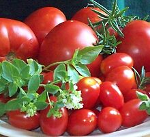 Tomato Tote by WalnutHill