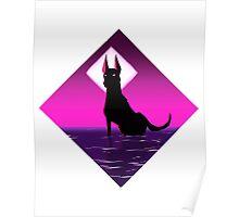Hyper Light Drifter: Dog God Poster