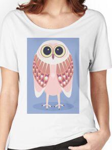 AWAKE OWL Women's Relaxed Fit T-Shirt