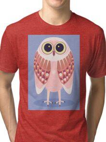 AWAKE OWL Tri-blend T-Shirt
