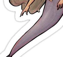 Purple Mermaid Sticker