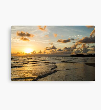 Rollingstone Sunrise 3 Canvas Print