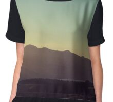 View of Hills* Chiffon Top