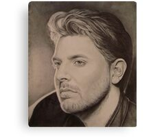 Chris Young in Pencil Canvas Print