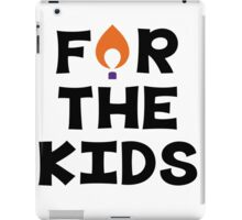 For The Kids--Clemson University iPad Case/Skin