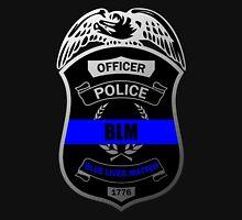 Blue Lives Matter Police Badge Unisex T-Shirt