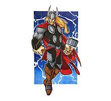 Thor Photographic Print