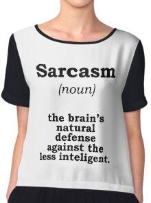 Sarcasm Chiffon Top
