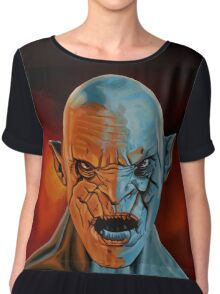 Azog The Orc Painting Chiffon Top