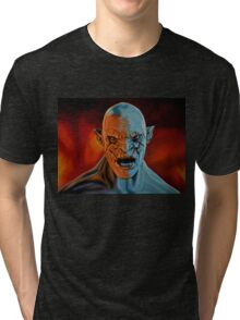 Azog The Orc Painting Tri-blend T-Shirt