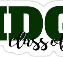 Ridge Class of 2017 Bold Sticker