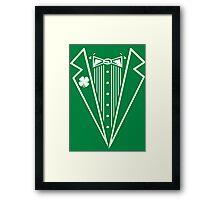 Irish Tux Framed Print