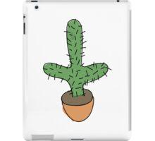 sketchy cactus iPad Case/Skin