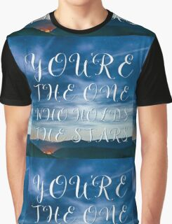 Youre  the One Who Holds the Stars Jesus Graphic T-Shirt