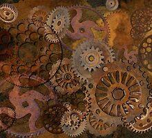 Changing Gear - Steampunk Gears & Cogs by Skye Ryan-Evans