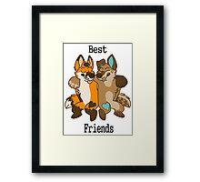 Best Furry Friends Framed Print