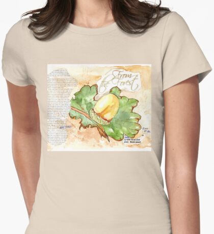 Country Diary - From the Forest Womens Fitted T-Shirt