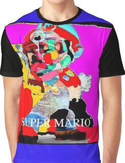 (100-k)- 100 Karma clothing Mario Graphic T-Shirt