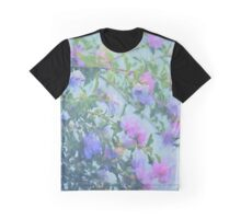 Soft Summer Floral Spray Graphic T-Shirt
