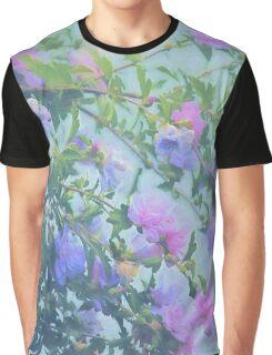 Soft Summer Floral Spray Graphic T-Shirt