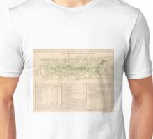 Vintage Map of Puerto Rico (1760) Unisex T-Shirt