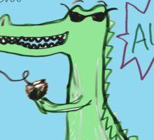 Maybe Later Alligator Sticker