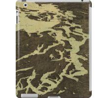 Vintage Map of The Puget Sound (1891) 2 iPad Case/Skin