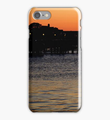Summer Sunset Serenity Photograph  iPhone Case/Skin