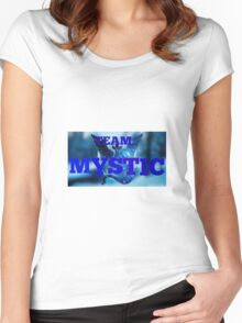 Team Mystic 1 Women's Fitted Scoop T-Shirt