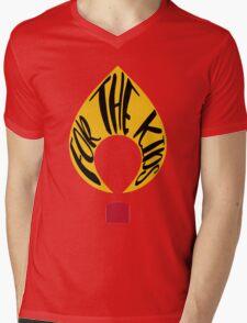FTK Flame  Mens V-Neck T-Shirt