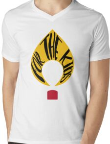FTK Flame  Mens V-Neck T-Shirt