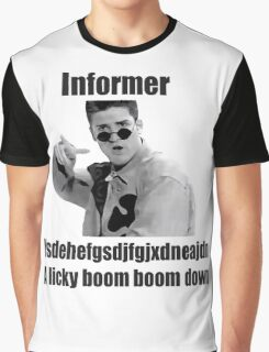 Informer 90s Rap Retro Vintage Shirt Graphic T-Shirt