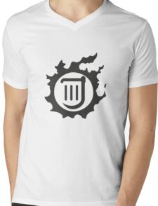 Final Fantasy 14 logo BRD Mens V-Neck T-Shirt