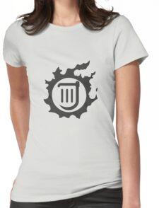Final Fantasy 14 logo BRD Womens Fitted T-Shirt