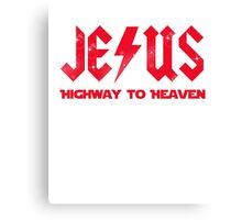 Jesus - Highway to Highway Canvas Print