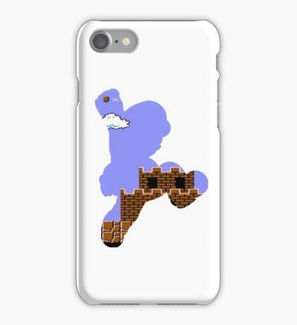 Mario Jump Retro  iPhone Case/Skin