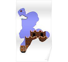 Mario Jump Retro  Poster