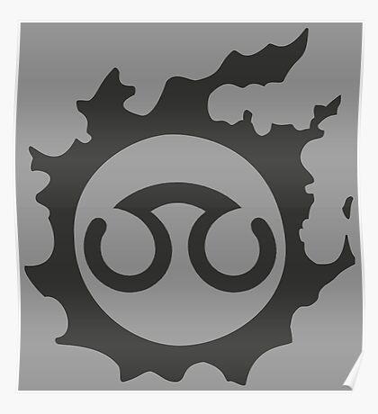 Final Fantasy 14 logo SCH Poster