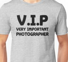 Funny Photography Shirt Unisex T-Shirt