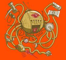 Wrecker The Robot Kids Tee