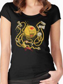 Wrecker The Robot Women's Fitted Scoop T-Shirt