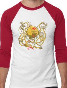 Wrecker The Robot Men's Baseball ¾ T-Shirt