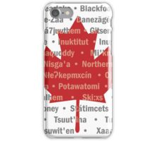 Canada's Native Tongues iPhone Case/Skin