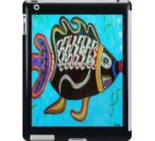 "BANDIT - the fish that ""resurfaced"" from the flames iPad Case/Skin"