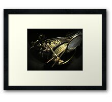 Steampunk Gentlemen's Hat 2.2 Framed Print