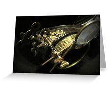 Steampunk Gentlemen's Hat 2.2 Greeting Card