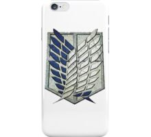Attack on Titan - Survey Corps iPhone Case/Skin